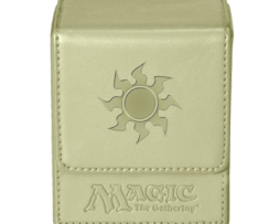 DECK-BOX-MAGIC-FLIP-TOP-BOX-MANA--4 WHITE