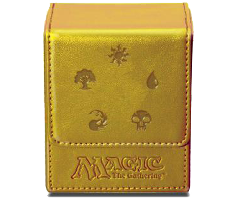 DECK-BOX-MAGIC-FLIP-TOP-BOX-MANA-5 GOLD