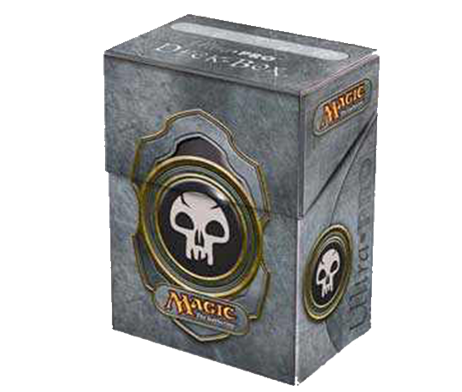 DECK-BOX-MAGIC--MANA-SYMBOL---BLACK-