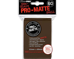DPS PRO-MATTE - SMALL BROWN (60 PCS) [UP84271]