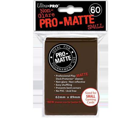 DPS PRO-MATTE - SMALL BROWN (60 PCS) [UP84271]