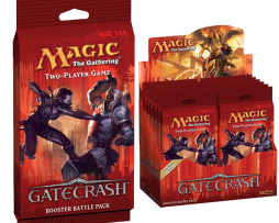 MTG BOOSTER BATTLE PACK GATECRASH