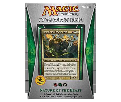 MTG-COMMANDER-2013--NATURE-OF-THE-BEAST