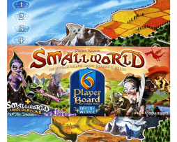 SMALL WORLD – 6 PLAYER BOARD