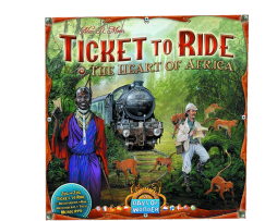 TICKET TO RIDE: THE HEART OF AFRICA EXPANSION