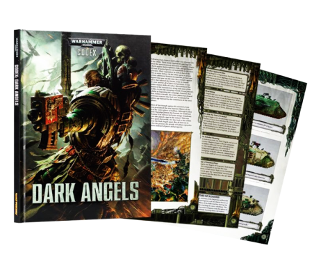 WARHAMMER 40K CODEX DARK ANGELS