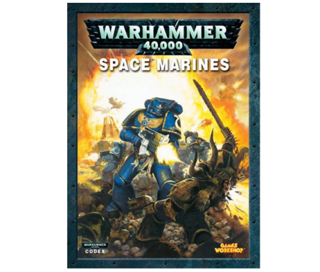 WARHAMMER 40K CODEX SPACE MARINES