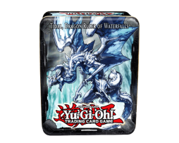 YU-GI-OH!-2013-COLLECTOR-TIN-WAVE--TIDAL,-DRAGON-RULER-OF-WATERFALS-1