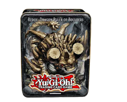 YU-GI-OH!-2013-COLLECTOR-TIN-WAVE-2-REDOX,-DRAGON-RULER-OF-BOULDERS
