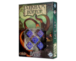 ARKHAM HORROR DICE SET- BLESSED (Blue)