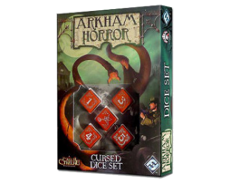 ARKHAM HORROR DICE SET- CURSED (Red)
