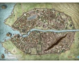 D&D: Campaign Mat – Neverwinter Campaign  Map