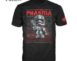 FUNKO POP! Tees – StarWars Captain Phasma