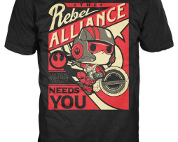 FUNKO POP! Tees – StarWars Po Dameron Rebel Alliance