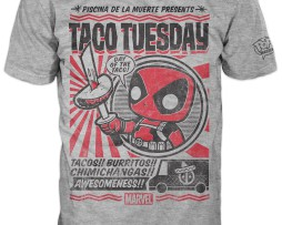 FUNKO POP! Tees – DEADPOOL – TACO TUESDAY