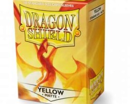 dragon_shield_matte_yellow