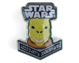 FUNKO POP STAR WARS PINS –  BOUNTY HUNTER BOSSK