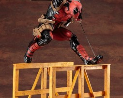 Kotobukiya Marvel Now! ARTFX Super Deadpool 1/6 scale Prepainted PVC Statue 2017