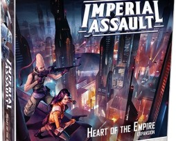 STAR WARS: IMPERIAL ASSAULT  Heart of the Empire Campaign Expansion