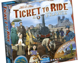 TICKET TO RIDE: France & Old West: Map Collection