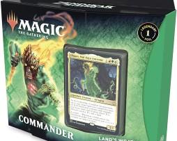 Magic The Gathering Land's Wrath Commander Deck 1