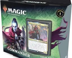 Magic The Gathering Sneak Attack Commander Deck 1