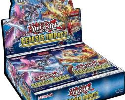 Yu-Gi-Oh! Genesis Impact Booster Display