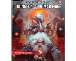 Dungeons & Dragons Waterdeep Dungeon of the Mad Mage Manual 1