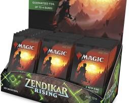 Magic The Gathering Zendikar Rising Display Set Boosters 1