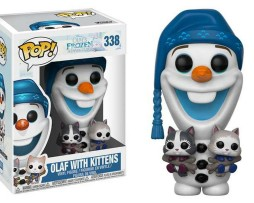 POP! Olaf with Kittens Vinyl Figure #338 1