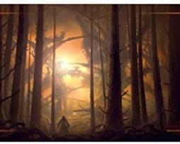 Playmat John Avon Art Megalis Forest