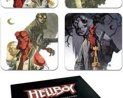 Hellboy 4-Coaster Set 1