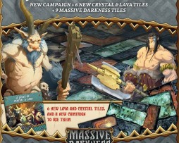 Massive Darkness A Quest of Crystal and Lava Expansion 1