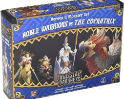 Massive Darkness Noble Warriors vs the Cockatrix 1