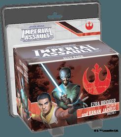 Star Wars Imperial Assault Ezra Bridger & Kana Jarrus