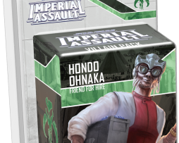 Star Wars Imperial Assault Hondo Ohnaka Friend for Hire