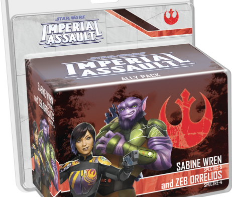 Star Wars Imperial Assault Sabine Wren & Zeb Orrelios