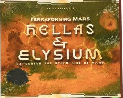 Terraforming Mars Hellas & Elysium Expansion 1