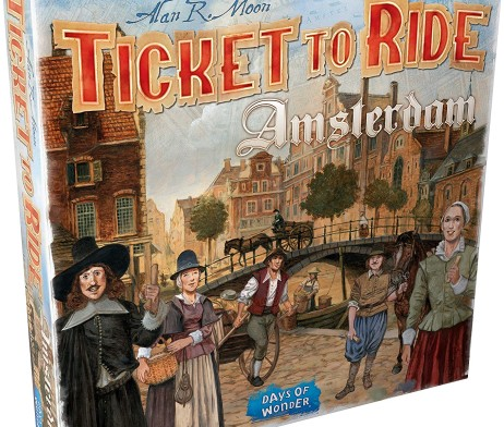 Ticket to Ride Amsterdam 1