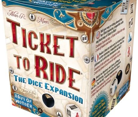 Ticket to Ride The Dice Expansion 1