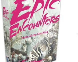 Dungeons & Dragons Epic Adventures Epic Encounters Halls of the Orc King 1