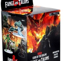 Dungeons & Dragons Icons of the Realms Fangs & Talons Booster 1