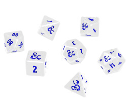 Dungeons & Dragons Ultra Pro Heavy Metal Icewind Dale 7 Dice Set 1