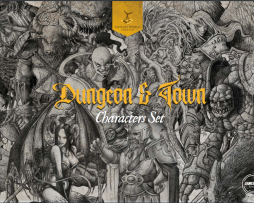 Fantasy World Creator Dungeon & Town Characters Set 1