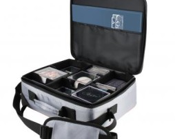 Ultra Pro Grey Collector's Deluxe Carrying Case Red Rim 2