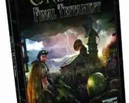 Warhammer 40.000 Roleplay Only War Final Testament 1