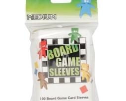 Arcane Tin Men Medium Board Game Sleeves 100 (57mmx89mm)