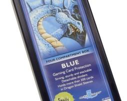 Dragon Shield Four Compartment Box Blue 2