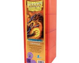Dragon Shield Four Compartment Box Orange 1