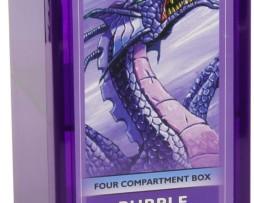 Dragon Shield Four Compartment Box Purple 1